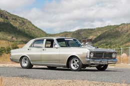 Ford XY Falcon blown