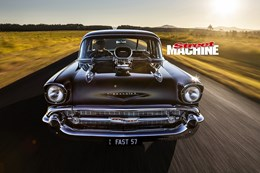 BLOWN 57 CHEVROLET 210