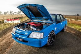 Holden VK Commodore Blue Meanie LSA