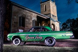 1964 PLYMOUTH FURY - GREEN FING