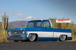 Slammed ls1 powered chevy c10 pick up street machine chevy c10 slammed sciox Image collections