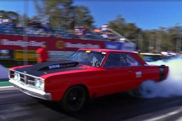 TURBO BIG-BLOCK DODGE RUNS MID-SEVENS AT MOPAR SUNDAY – VIDEO