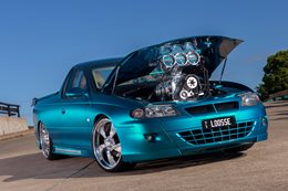 BLOWN BIG-BLOCK CHEV-POWERED HOLDEN SS UTE