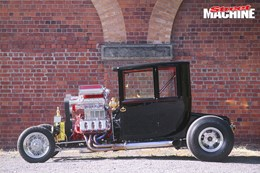 Model T twin supercharged Hadfield