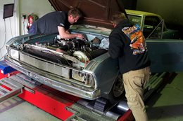 POR440 VALIANT HITS THE DYNO AT AUTOTECH
