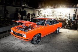 1976 NISSAN RB30/26 POWERED HOLDEN LX TORANA HATCH