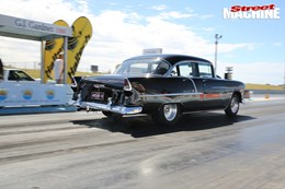 1955 CHEVROLET BELAIR AT DRAG CHALLENGE