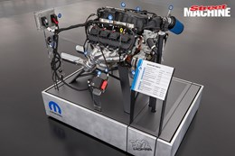 Mopar Hemi conversion SEMA