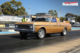 Ford XW Ute Barra