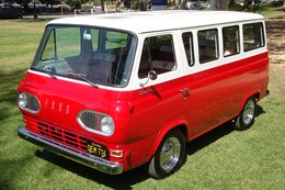 ROCKSTAR DAVE GROHL'S FORD FALCON VAN