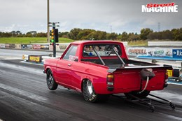 Datsun 1200 drag car