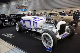 AUSSIE MODEL T 'COUPSTER' AT MOONEYES YOKOHAMA HOT ROD & CUSTOM SHOW