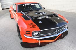 TWIN-TURBO NISSAN V6-POWERED ALL-WHEEL-DRIVE 1970 MUSTANG