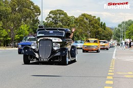Summernats 30 cruise