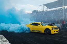 Camaro burnout KILLAB