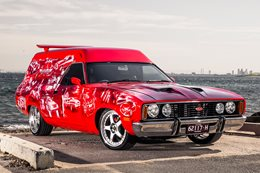 1977 FORD XC FALCON SUNDOWNER JAFFA