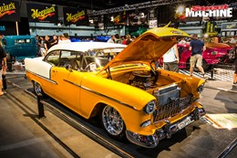 55 Chevy blown 350