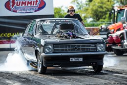 CRAZY SWEDES DO DRAG WEEK IN 540CI OPEL ASCONA - VIDEO