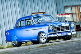 NINE-SECOND TURBO 1958 FC HOLDEN