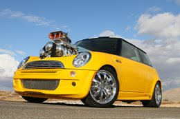 BLOWN 3920CUBE HEMI-POWERED 2003 MINI COOPER