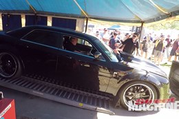 Chrysler 300 SRT8 Dyno crash nw