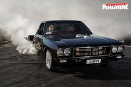 HQ Holden One tonner Happy burnout nw
