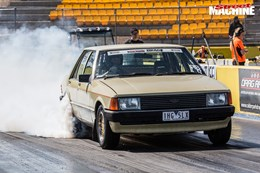 ford xd falcon drag challenge drag 3 nw