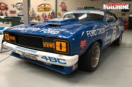 Ford XC Falcon Dick Johnson racecar 1 nw