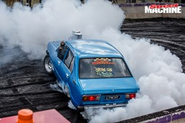 LYNCHY Summernats burnout 2 nw