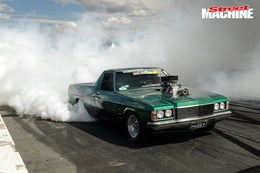 HZ Holden ute burnout PAGEY nw