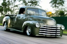 AARON GREGORY'S '51 CHEVY PICK UP