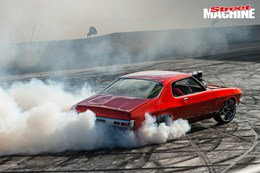 HQ Monaro burnout MRBADQ 1 nw