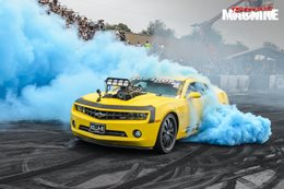 2012 Camaro blown burnout KILLAB