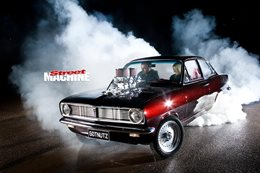 holden hb torana burnout nw