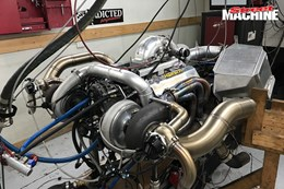 Twin turbo Ford Windsor engine nw
