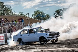 Cleetus burnout Summernats 1