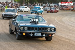Plymouth Barracuda blown nw