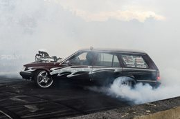 VK wagon burnout TUFFST