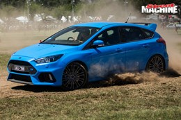 Ford Focus RS motorkhana 2 nw