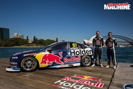 2018 Supercars Commodore Redbull 2 nw