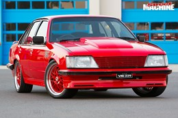 holden vh commodore front nw