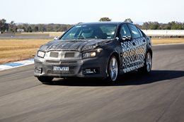VF Commodore engineering development vehicle