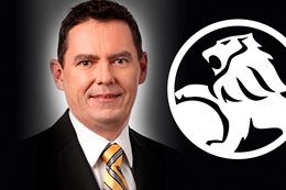 New Holden boss Mark Bernhard