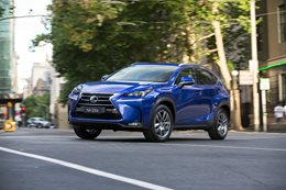 Lexus NX200t review test drive