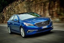 Hyundai Sonata review test drive
