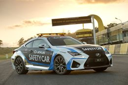 Lexus RC F V8 Supercar safety car