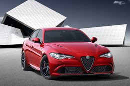 2016 Alfa Romeo Giulia first official pics