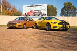 Ford Mustang vs Falcon XR8