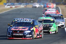 V8 Supercars Jamie Whincup Ipswich