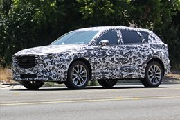 Mazda CX-9 Spy Photo